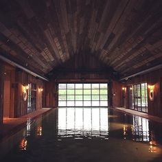 We're dreaming of a refreshing winter day's dip in Soho Farmhouse's heated indoor/outdoor pool in Oxfordshire