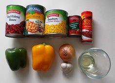 Mexický guláš Salt And Water, Spices, Beans, Stuffed Peppers, Vegetables, Food, Meal, Beans Recipes, Stuffed Pepper