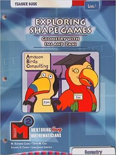 Exploring Shape Games, Geometry with Imi and Zani, Teacher Guide Level 1: Geometry, Project M2: Amazon.com: Books