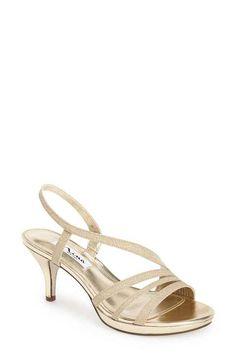 Nina  Neely  Slingback Platform Sandal (Women) Evening Sandals 49a35995965