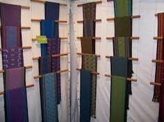 Risultati immagini per scarf display craft show