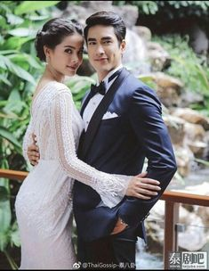 Thai Princess, Princess Style, Celebrity Wedding Dresses, Celebrity Weddings, Face Photography, Wedding Photography, Thai Wedding Dress, Sweet Couple, Celebrity Couples