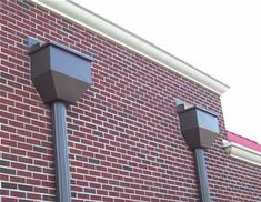Rain Collector Box Lh063 Pictured Gutters Scuppers