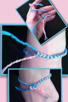 How to properly tie a Friendship Bracelet.