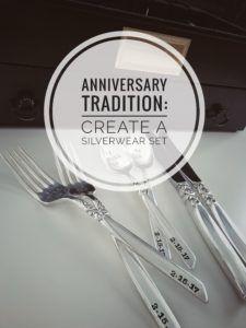 Anniversary Gift Idea: Start a Wedding Anniversary Gift Tradition - Engraved Silverwear