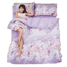 Find More Bedding Sets Information about Plants Flower active printing Bedding Set Polyester Duvet Cover Bed Sheet 2pcs Pillowcases Bedroom Textile Bed Linen,High Quality linen thread,China textile books Suppliers, Cheap linen women from Lena Small Wholesale Shop on Aliexpress.com