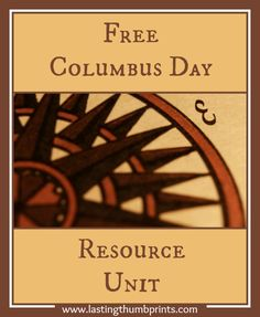Free Columbus Day Resource Unit from Lasting Thumbprints. Free Columbus printables, notebooking pages, unit studies, and more. Beloit College, Liberal Arts College, Columbus Day, Study History, Teaching Social Studies, Home Schooling, Homeschool Curriculum, Higher Education, Middle School