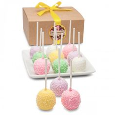 Treat yourself with the Pastel Truffle Cake Stix Box of 6, available at the Food Network Store.