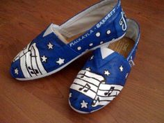 @Vickie Wilmink Custom MUSIC TOMS by AmbEli on Etsy, $95.00