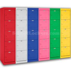 Sandusky Box Lockers For Kids For Sale! Includes Five High Box Compartments  Within One Frame. These Come In 17 Fun, Vibrant Colors And Make Great  Storage ...