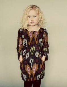Girl in Ikat Dress!