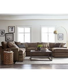 Macys Living Room sofa Inspirational Macy S Living Room Furniture Home Decor Interior Design and Color Living Room Sofa Design, Living Room Furniture Arrangement, Living Room Sectional, Living Room Colors, Living Room Sets, Home Living Room, Grey Sectional, Fabric Sectional, Sectional Furniture