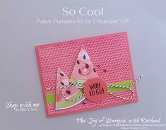 Paper Glue, Paper Crafts, Stampin Up Paper Pumpkin, Pumpkin Cards, Rainbow Theme, Painting Trim, Stamping Up Cards, Shaker Cards, What To Make
