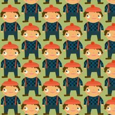 Lumberjack-inspired fabric #pinparty
