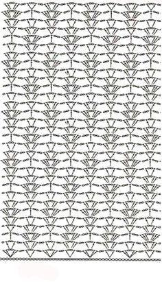 Schéma ou diagramme pour crochet Modèle de points divers