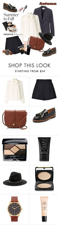 """""""Summer to Fall Layering"""" by amaryllis ❤ liked on Polyvore featuring Somerset by Alice Temperley, RED Valentino, Vince Camuto, Stuart Weitzman, Christian Dior, NARS Cosmetics, Sole Society, Lancôme, Guerlain and Givenchy"""