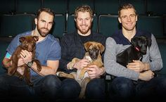 Winnipeg Jets wives and girlfriends to raise funds for Winnipeg Pet Rescue Shelter with charity calendar - Winnipeg Jets - News Articles Jets Hockey, Jet Fan, Hockey Stuff, Wife And Girlfriend, National Hockey League, Raise Funds, Hockey Players, News Articles, Good Looking Men
