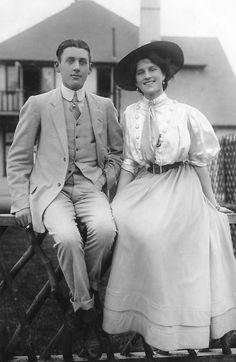 Zena Dare with her brother Jack