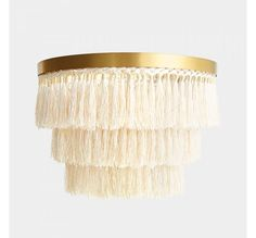 Adorn your ceilings in the bedroom, living room or hallway with this luxurious Brass Ceiling Light with Neutral Tassels. Brass Ceiling Light, Ceiling Lights, Dressing Table Storage, Dressing Room, Cocktail Maker, Cocktail Glassware, Jewelry Mirror, Home Decor Lights, Boho Bedroom Decor