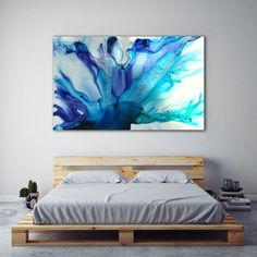 art abstracto Resin art by artist Jessica Skye Baker part of the Baker Collection Resin Artwork, Resin Paintings, Blue Artwork, Flow Painting, Diy Painting, Alcohol Ink Art, Acrylic Art, Painting Inspiration, Diy Art