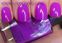 Color Club Gimme A Grape Big Kiss. @Sarah Chintomby Chintomby Chintomby Baggett ~ great summer toe color