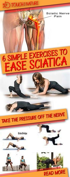 Everyone who has ever suffered from sciatic nerve pain knows it's a real pain in the butt - literally.