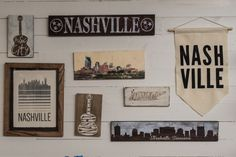 Get a taste of Nashville with signs, gifts, apparel and home decor at the Music City Marketplace #Nashville #MusicCity #MusicCityMarketplace