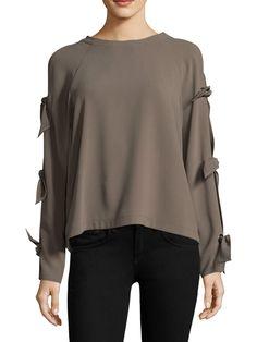 3b0c4f7bb2a BCBGMAXAZRIA Woven Cold Shoulder Top.  bcbgmaxazria  cloth   Bcbgmaxazria  Style