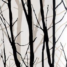 Behang Geweven Boom Bos Woods Behang PVC Muur papierrol Voor TV Achtergrond Muur Home Decor Papier Zwart Wit R13(China (Mainland))