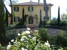 """Rent Villa Laura (Bramasole) in Tuscany, Italy which was the villa used in the movie """"Under the Tuscan Sun"""""""