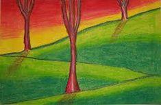 Image result for easy oil pastel art