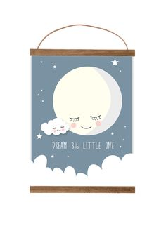 A4 Poster Dream Big Little One #kidsroom #poster