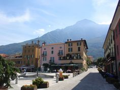 Colico  is situated on the northern arm of Como Lake.