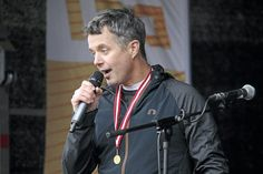 Frederik, as a member of the IOC, in Roskilde at a Danish sport activity called Sport for All. 31 October 2014.