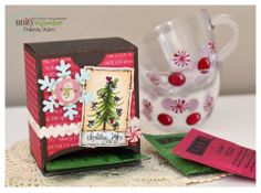 Unity Stamp Co. - Design Team Member - @Monique Dewarrat paperie  - Using the Stamp of the Week - {Holiday Joy Christmas Tree} http://www.unitystampco.com