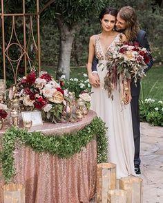 Decoração de Casamento : Paleta de Cores Verde e Rosa Chá | Blog de Casamento DIY da Maria Fernanda