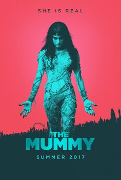 """brokehorrorfan: """"MD Posters deigned this alternative poster for The Mummy. Directed by Alex Kurtzman (People Like Us), the new take on the classic monster movie opens on June 9 via Universal. Watch..."""
