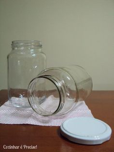 Cozinhar é Preciso: Reciclando potes de vidro - como esterilizá-los?