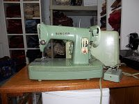 Singer 185K metal sewing machine plastic case