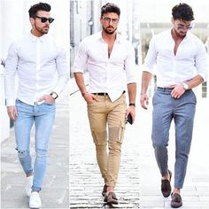 """1,209 Likes, 18 Comments - Mens Fashion Inspiration (@mens_styler) on Instagram: """"1-2-3? What Do You Think? """""""
