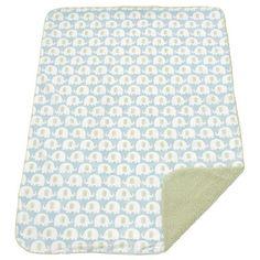 Carters Elephant Velour Blanket