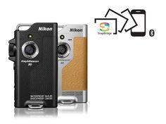 NIKON KeyMission 80 Actioncam Full HD , WLAN, Touchscreen     12.4 Megapixel     Full HD 44.8 mm x 86.5 mm x 15 mm / 74 g  HDR-Modus,1.8-mm-NIKKOR-Weitwinkelobjektiv mit 90-Grad-Bildwinkel, Objektiv vorne und hinten, Stoßfest bis 1.5 Meter, SnapBridge-App, ultraschnell aufnahmebereit in weniger als 0.65 Sekunden, intuitive und einfache Benutzeroberfläche, Übertragung der Bilder im Hintergrund, während man schon weiter fotografiert, Automatischer Upload in den kostenlosen NIKON IMAGE SPACE3