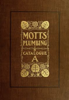 Mott's Plumbing Fixtures catalog, J.L. Mott Iron Works (1907). OMG, this is the best bathroom catalog! Tons of complete bathrooms, decent resolution on pictures.