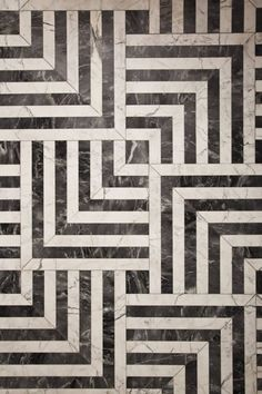 BLACK WHITE TILES FROM Kelly Wearstler interior design- IN LOVE!!!!