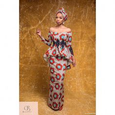 Here's Fashionable latest african fashion look 6567815278 African Print Dresses, African Fashion Dresses, African Dress, Fashion Outfits, African Prints, Hijab Fashion, Women's Fashion, Fashion Trends, African Attire