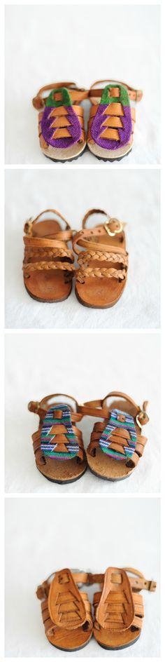 Baby sandalias