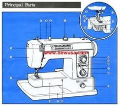 brother 461 761 606 607 sewing machine threading diagram creative rh pinterest com