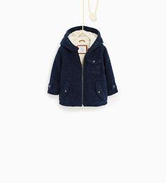 Boiled wool jacket