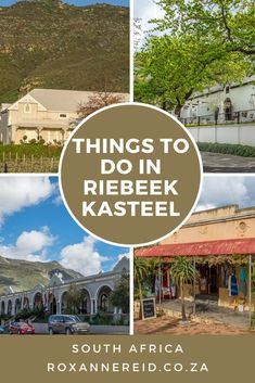 The Riebeek Valley is a much-loved weekend getaway for Capetonians. Here's my pick of 12 things to do in and around Riebeek Kasteel in the Swartland. Stuff To Do, Things To Do, All About Africa, Wildlife Safari, Slow Travel, Kruger National Park, Beach Walk, Africa Travel, Virtual Tour