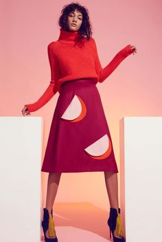 Novis Fall 2016 Ready-to-Wear Fashion Show Fashion Week 2016, Runway Fashion, Fashion News, Fashion Show, Fashion Design, Colorful Fashion, Autumn Winter Fashion, Fall Winter, Knitwear
